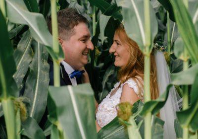 Naturalna sesja ślubna – Ewelina i Krzysiek
