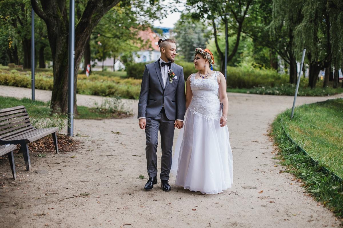 plener ślubny w Olsztynie