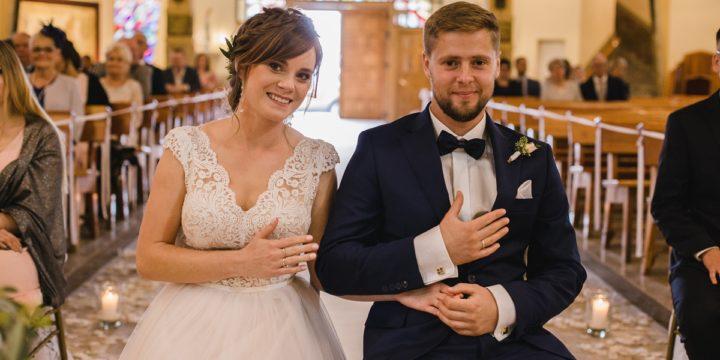Ślub rustykalny Małgosi i Bartka
