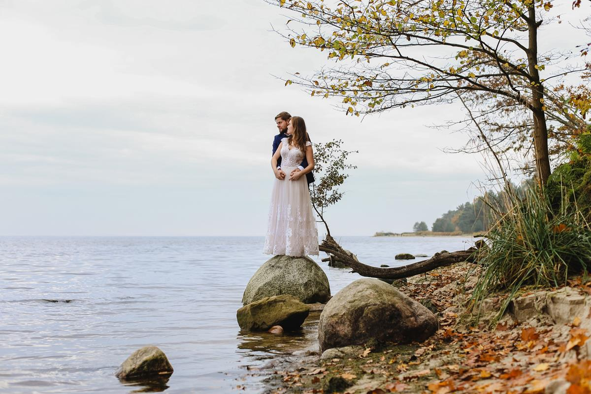 sesja ślubna jesienią