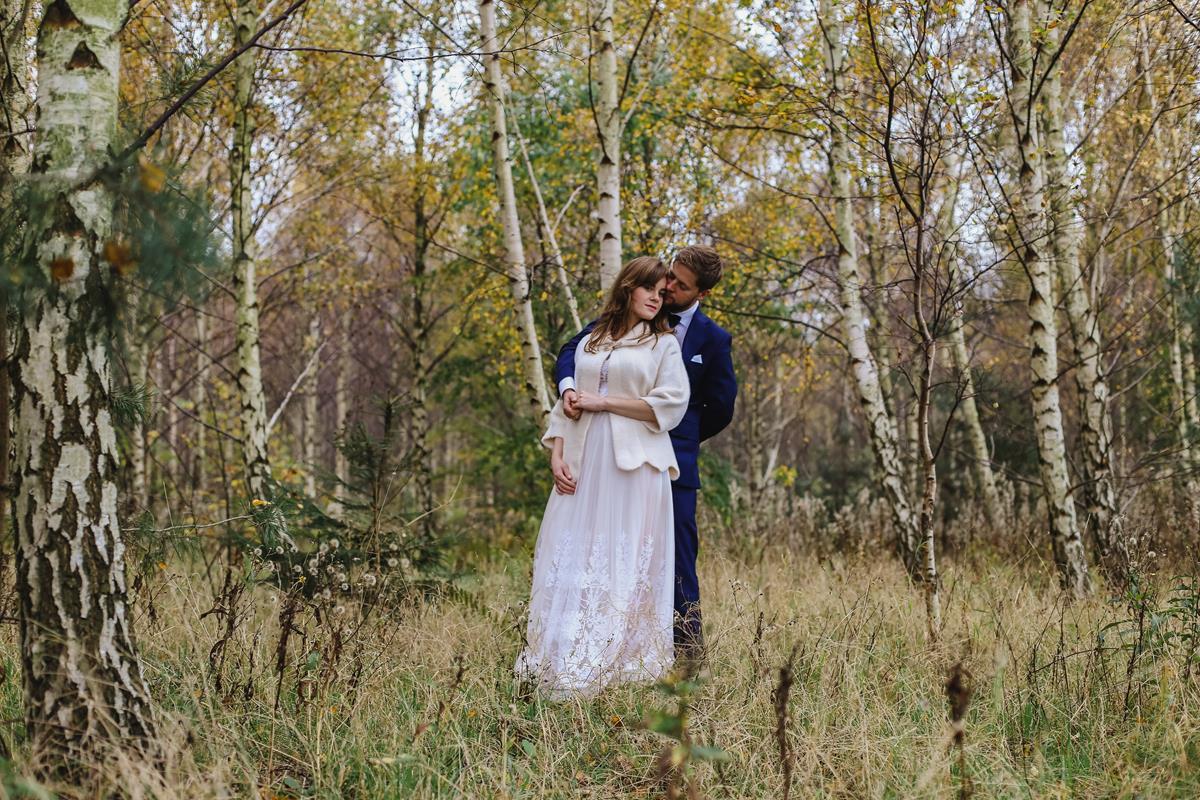 sesja ślubna na kaszubach
