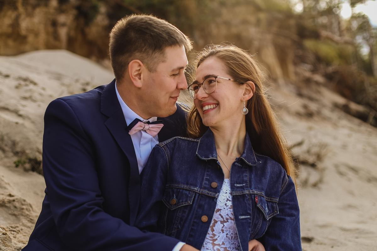 Ania & Włodek – sesja ślubna nad morzem